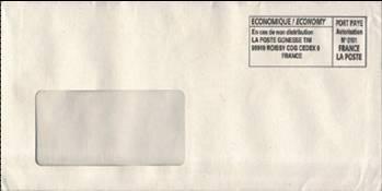 конверт на тендер образец